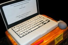 computer cake.  Authors can never escape computers! :D
