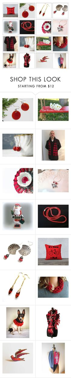"""""""Hot Holiday Gifts!"""" by therusticpelican ❤ liked on Polyvore featuring Chilli Pepper, modern, contemporary, rustic and vintage"""