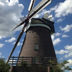 Breberen Windmill, Gangelt-Breberen, Germany. Built in mid-1800's and still works!