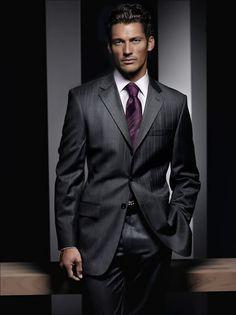 DG in a sleek suit and tie