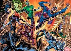 Justice League by Bryan Hitch