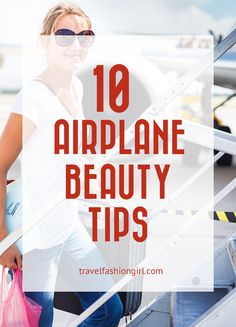 Airplane Beauty: How to Look Good After a Long Haul Flight. Read these 10 easy tips to learn how to look good after a long haul flight. Look and feel fresh when you arrive at your destination!  www.travelfashiongirl.com