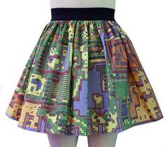 Map of Hyrule skirt