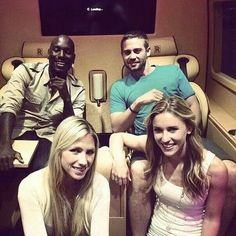 Sweet family...cody and his gf and caleb wife....cool..i love u Tyrese