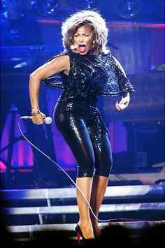 Tina Turner @ 74 yrs Old . Love her...