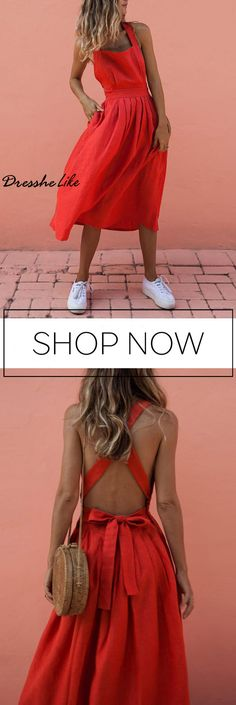 Vacation Shift Dress for Summer Mode Outfits, Chic Outfits, Summer Outfits, Fashion Outfits, Summer Dresses, Women's Fashion, Mode Shoes, Vestidos Sexy, Maxi Robes