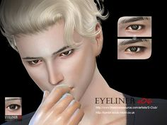 The Sims Resource: Eyeliner 06 by S-Club • Sims 4 Downloads