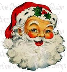 Sweet Magnolias Farm clip art Christmas Santa image for personal use Christmas Graphics, Christmas Clipart, Noel Christmas, Father Christmas, Retro Christmas, Christmas Printables, Christmas Mantles, Victorian Christmas, White Christmas