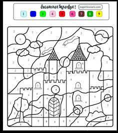 Pour imprimer ce coloriage gratuit «coloriage-magique-1», cliquez sur l'icône Imprimante situé juste à droite