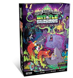 Epic Spell Wars of the Battle Wizards II: Rumble at Castle Tentakill: turn an already epic game into an EPIC game!  The Cryptozoic Store is your one stop for hit Trading Cards and Board Games.