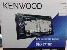 "Kenwood DNX571HD 2 DIN 6.1"" Navigation Bluetooth HD Radio #Kenwood"