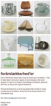 newsletter #80 #affaer.dk