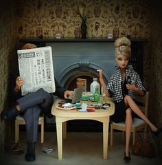 Photographer Mariel Clayton   (Barbie's less than glamorous life)