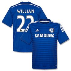 Adidas Chelsea Home Willian Shirt 2014 2015 Chelsea Home Willian Shirt 2014 2015 http://www.comparestoreprices.co.uk/football-shirts/adidas-chelsea-home-willian-shirt-2014-2015.asp