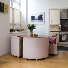 Smart compact dining room