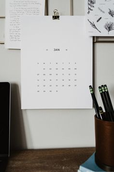 Free 2018 Minimal Printable Calendar   Lauren Nicole Co.  calendar download free, free 2018 calendar, minimal calendar, free calendar, download calendar, calendar download, simple calendar, desk calendar