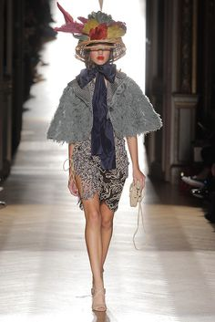 Look 34 at Vivienne Westwood #SS15 Gold Label