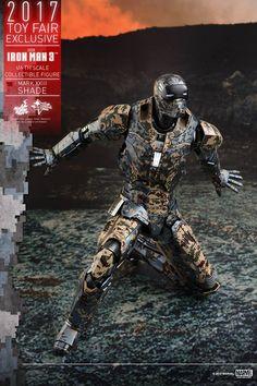 HOT TOYS 2017年於展覽會發售: 限定版 1/6 Action Figure《IRON MAN 3》Shades (Mark XXIII)   TAGhobby.com