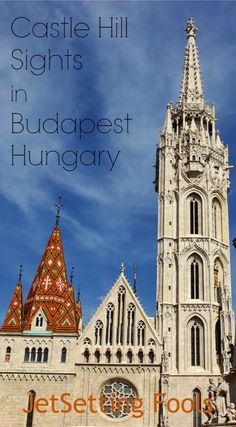 Our second day of discovering Budapest, we headed to the west side of the river (the Buda side) to explore the palace, church and other Castle Hill sights. Once we were across Chain Bridge, we immediately ascended a set of shaded stairs to Parade Square, which sits between the Royal Palace and Matthias Church.