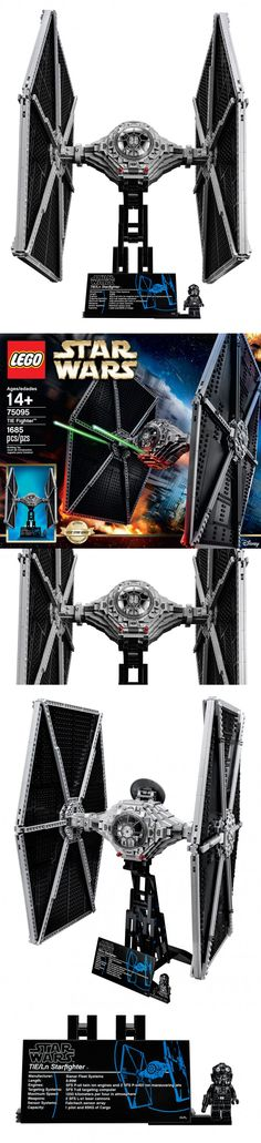 LEGO UCS Star Wars TIE Fighter: Eye of Sith Lords Eyeball this eyeball. The Ultimate Collector Series LEGO TIE Fighter 79095 is a 19.5″ high, 12″ long, and 12.2″ wide scale model of the Empire's staple starfighter. It will come with a 360º display stand, a fact plaque and a new TIE fighter pilot minifig with a blaster. See more at: http://technabob.com/blog/2015/02/16/lego-ucs-star-wars-tie-fighter-eye-of-sith-lords/#sthash.thomAPOo.dpuf