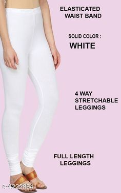 Leggings & Tights  Alluring Attractive Women's Legging Fabric: 95%COTTON  5% LYCRA Size: XL - Waist - Up To 22 in To 28 in Length - Up to 42 in XXL - Waist - Up To 25 in To 30 in Length - Up To 44 in Type: Stitched Description:  It Has 1 Pieces Of Women's Leggings  Colour: White Pattern: Solid Country of Origin: India Sizes Available: XL, XXL   Catalog Rating: ★4.1 (473)  Catalog Name: Siya Alluring Attractive Women's Leggings Vol 18 CatalogID_603678 C79-SC1035 Code: 262-4222864-675