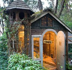 All The Garden Sheds Of Your Wildest, Quaintest Dreams : buzzfeed