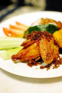 #Nasi Uduk #FriedChicken at Koffie Warung Tinggi #Jakarta