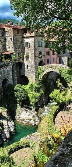 Italy - Tuscany, Bagnone.