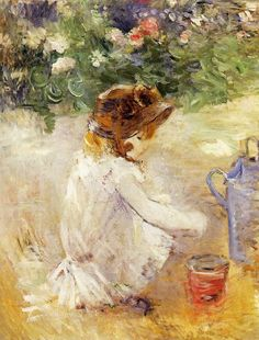 It's About Time: Reading. Berthe Morisot (1841-1895).