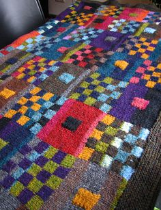 Love the colors! (Kaffe pattern, of course!)