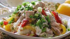 Очень простой и быстрый салат! Только полезные ингредиенты!