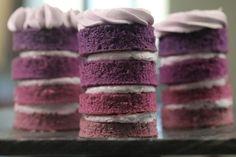 Mini Floral Ombre Cake Recipe - Genius Kitchen
