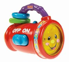 The Fisher-Price® Laugh & Learn™ Sing & Learn Light introduces baby to numbers colors opposites and more through interactive phrases and songs. In addition the Sing & Learn Light promotes curios...