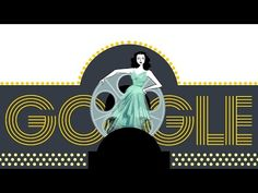 Hedy Lamarr's 101st Birthday Google Doodle - YouTube