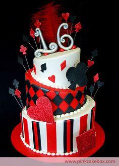 Queen of Hearts cake