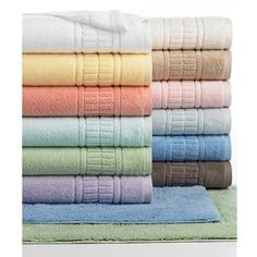 Featuring ultra-absorbent cotton in a spectrum of great colors to complement your decor.