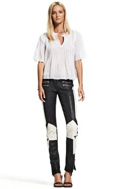 Cadiz Stretch Leather Pant from Hunkydory