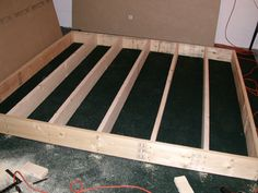 Build your own indoor putting green
