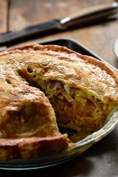 NYT Cooking: The Russians call it kulebyaka, but in Alaska it is pirok, perok or peroche — all amendments of pirog, the more general Russian word for pie. Inside the flaky crust, wild salmon from Alaskan waters is layered with rice and cabbage, crops introduced to the 18th-century natives of Kodiak Island by fur traders from across the strait. Long after the Russians gave up the ...