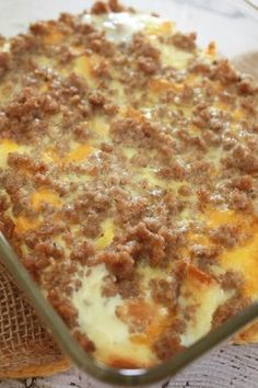 Stop here if you're looking for sausage breakfast recipes, casseroles and more! They're my weakness and this one does NOT disappoint!