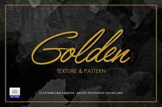 Gold Texture by sagesmaskelement on @creativemarket