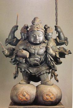 Daikokuten Chinese Buddha, Buddha Art, Korean Art, Historical Art, Japan Art, Sacred Art, Ancient Art, Sculpture Art, Oriental