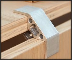 Invented by Micah Black, brackets are aluminum and stainless steel connectors meant to connect pieces of sheet-wood or plywood, allowing you to create your furniture and other DIY projects. Modular Furniture, Plywood Furniture, Rustic Furniture, Diy Furniture, Furniture Design, Plywood Walls, Furniture Stores, Modern Furniture, Teak