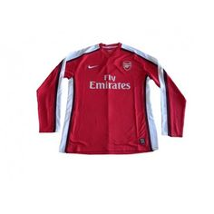 5e9345bb3  NIKE ARSENAL 2009 HOME AUTHENTIC LONG SLEEVE JERSEY -- Arsenal 2008-09  season Authentic player version home long sleeve red