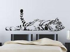"""Képtalálat a következőre: """"tigris falmatrica"""""""