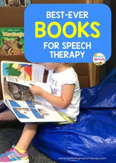 A great post about targeting speech and language goals using great literature/storybooks. Best-Ever Books for Speech Therapy- Press Here www.speechsproutstherapy.com