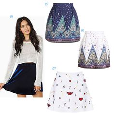 I want all of these skirts! My wishlist