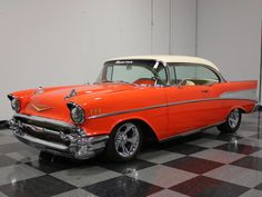 1957 Chevrolet Bel Air/150/210 Restomod..Re-Pin..Brought to you by #CarInsEugene & #HouseofInsurance