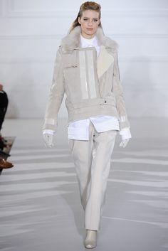 Aquascutum Fall 2012 Ready-to-Wear Fashion Show - Julia Frauche