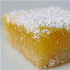 Low-Carb Sugar-Free Lemon Bars Allrecipes.com